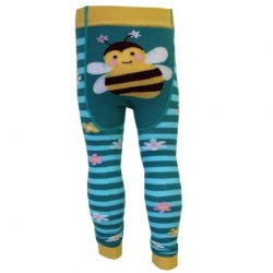 tights leggings baby barn humla bumble bee
