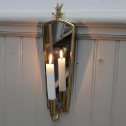 Mirror Lightholder, Marie Brass